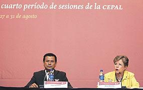 Para la CEPAL es un privilegio colaborar con esos nuevos organismos, aseguró su presidenta.