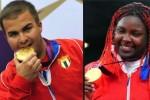 El tirador, Leuris Pupo, y la judoca Idalys Ortiz, aportaron las dos primeras medallas de oro para Cuba en Londres 2012.(foto: Cubadebate)