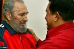 Fidel y Chávez. (Foto de Archivo)