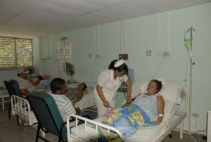 En la Torre F del Hospital Provincial presta servicio una moderna sala de Urología.