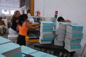 Las libretas fabricadas garantizan el comienzo del curso escolar en la provincia.