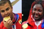 Leuris Pupo e Idalys Ortiz asaltaron el Olimpo. (foto: Cubadebate)