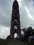 La torre de Manaca Iznaga tiene más de 40 metros de altura.
