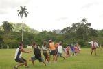 En El Pedrero los niños disfrutan diariamente de las propuestas deportivas.