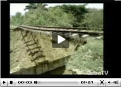 Recuperan vías férreas por inundaciones en Sancti Spiritus