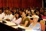 Familiares de Los Cinco participaron en la clausura del evento.