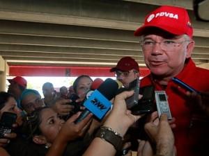Rafael Ramírez, ministro de Energía y Petróleo de Venezuela.