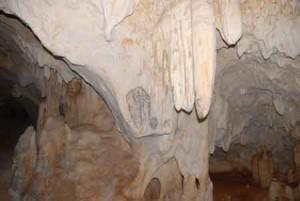 Arte rupestre en la cueva de Ramos