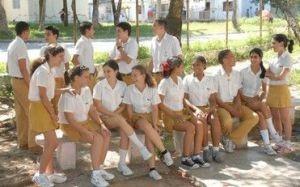 En Sancti Spíritus las condiciones están garantizadas para que cada alumno tenga este 3 de septiembre un maestro frente al aula. (foto: Vicente Brito)