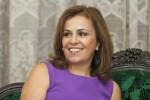 Vanda Pignato, primera dama de El Salvador.