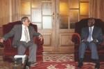 Raúl Castro y José Eduardo Dos Santos.