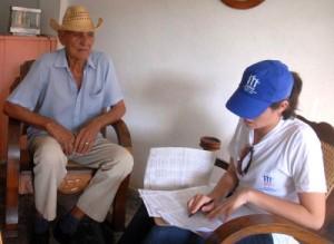 Centenares de jóvenes están vinculados a las labores del IV Censo de Población y Viviendas. (foto: Oscar Alfonso Sosa)
