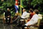 El ministro de Relaciones Exteriores y Comercio Exterior de Jamaica se encuentra realizando una visita oficial a nuestro país. (foto: Estudios Revolución)