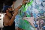La obra de Alexis Leyva (Kcho) estará presente en la muestra.