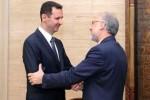 El presidente sirio recibió a Ali Akbar Salehi, canciller de Irán.