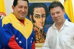 Chavez y Santos en una foto de archivo. (AVN)
