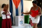 El 82,65 por ciento de los más de ocho millones de cubanos con derecho al sufragio habia votado hasta las dos de la tarde.