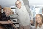 El líder de la Revolución cubana Fidel Castro acompaño a Jaua hasta el Hotel Nacional.