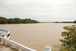 En una jornada cayeron como promedio en el territorio 100, 6 milímetros (mm). (foto: Vicente Brito)