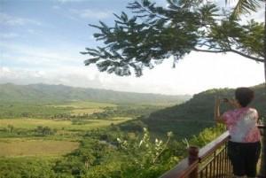 El Mirador es un sitio casi obligado para reconocer los valores paisajísticos del lugar.