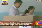 """""""Los ciudadanos saben que su voto cuenta"""", señaló Jaua."""