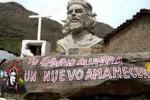 Imagen del Che en La Higuera.