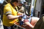 La víctima presenciaba la protesta desde el cuarto piso de un edificio, donde fue impactado por el proyectil.