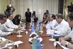 Bruno Rodríguez agradeció el voto neozelandés en la ONU en contra del bloqueo de EE.UU. a Cuba.(foto: PL)