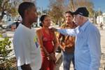Machado Ventura, dialogó con los pobladores afectados en varias localidades de Holguín.