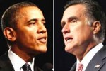 Obama y Romney están empatados en cuanto a intenciones de votos.