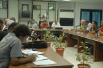 Encuentro de constitución del equipo Sancti Spíritus. (Foto AIN)
