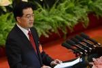 Hu Jintao en su discurso de inauguración del Congreso del PCCh.