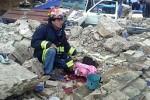 Las cifras de afectados por el sismo resultan preliminares.