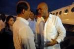 Martelly fue despedido por Rogelio Sierra, vicecanciller cubano.