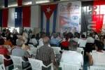 Durante el Coloquio se realizó un Encuentro de Madres y Mujeres en solidaridad con la causa de los Cinco.(foto: PL)