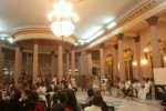 La Biblioteca Provincial Rubén Martínez Villena sirvió como escenario a la inauguración de la XXIII Jornada de la Poesía Cubana. (foto: Andrei Álvarez)