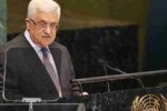 El presidente palestino, Mahmud Abbas, llamó a decir basta a la agresión, los asentamientos y la ocupación israelíes.