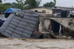 Sandy afectó a Haití tras un largo período de sequía y de un huracán anterior (Isaac) en agosto pasado.