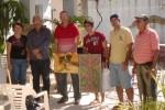 El concurso regaló obras de los pintores cabaiguanenses Julio Santos y Noel Cabrera.