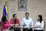 Maduro dio lectura a un comunicado oficial desde La Habana.