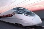 El tren rápido es capaz de alcanzar 350 kilómetros por hora.