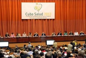 A la apertura de Cuba Salud 2012 asistió José R. Machado Ventura, primer vicepresidente de la isla.