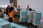 Los trabajadores gráficos de Sancti Spíritus garantizan la libreta escolar de estudiantado de la provincia.