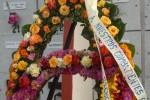 Ofrendas florales encabezaron la peregrinación en homenaje a los mártires caídos en misiones internacionalista.