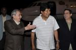 Ambos mandatarios intercambiaron sobre el excelente estado de las relaciones entre ambos países.