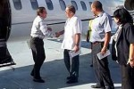 El canciller ecuatoriano visitó este domingo a Santiago de Cuba.