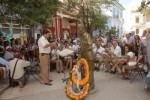 Durante la inauguración de la Jornada se le rindió homenaje a Gerardo Echemendía Madrigal (Serapio).