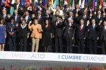 Foto oficial de los participantes en la Cumbre de la Celac y la Unión Europea.