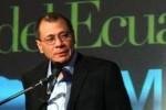Jorge Glas, aspirante a vicepresidente por el Movimiento Alianza PAIS.