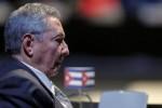 El Presidente Raúl Castro en la clausura de la Cumbre. Analistas consideran el cónclave una rotunda victoria diplomática de Cuba.